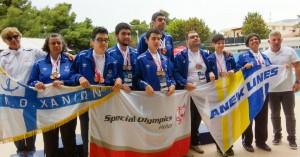 18 μετάλλια στους Πανελλήνιους Αγώνες Special Olympics