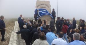 Πλήθος κόσμου στο Μνημείο Αντίστασης και Λευτεριάς στον «Τσιλίβδικα»