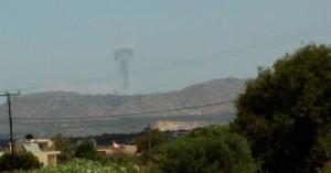 Τι ήταν οι ήχοι από εκρήξεις που ακούστηκαν σε περιοχές των Χανίων (φωτο)