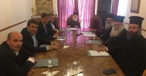 Συνάντηση Ιεράς Συνόδου Εκκλησίας Κρήτης με Βουλευτές για το Σύνταγμα