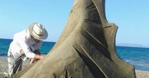 Η Αμμουδάρα προβάλλεται σε όλο τον κόσμο μέσα από το 3ο Φεστιβάλ Γλυπτικής