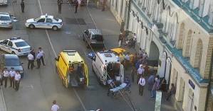 Φοβήθηκε για τη ζωή του ο οδηγός ταξί που έπεσε σε πλήθος στη Μόσχα