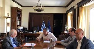 Σημαντικές επαφές στην Αθήνα για ΔΕΔΙΣΑ και ΔΕΥΑΧ