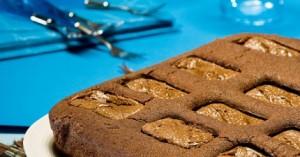 Κέικ γεμιστό με σοκολάτες Mars