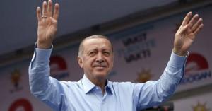 Στο 55,08% ο Ερντογάν, με καταμετρημένο το 70% των ψήφων