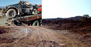 Έθαψαν σε χωράφι τον 70χρονο Π.Δουρουντάκη και το αυτοκίνητό του (φωτο)