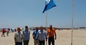Γαλάζιες σημαίες σε Φαλάσαρνα και Ελαφονήσι