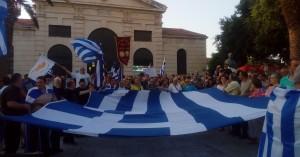 Νέα συγκέντρωση στα Χανιά για την Μακεδονία
