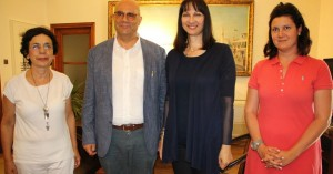 Συναντήθηκε η Υπ. Τουρισμού Ελ. Κουντουρά με τον Τάσο Βάμβουκα