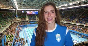 Πανελλήνιο ρεκόρ για την Άννα Ντουντουνάκη στους Μεσογειακούς Αγώνες