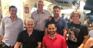Γεύμα της διοίκησης του ΟΑΧ στις ομάδες μπάσκετ