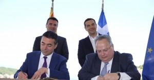 Πώς σχολιάζουν τα διεθνή ΜΜΕ την ιστορική συμφωνία στις Πρέσπες