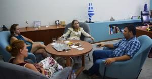 Τον Δήμο Αγίου Νικολάου επισκέφθηκε σήμερα η πρέσβειρα της Χιλής