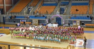 Η ετήσια γιορτή ρυθμικής γυμναστικής του Ελ. Βενιζέλου