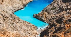 Έπεσε νεαρός από τα βράχια στην παραλία Σειτάν Λιμάνια στο Ακρωτήρι Χανίων