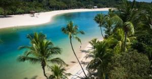 Το νησί με τις τεχνητές παραλίες (φωτο)