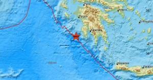 Ισχυρός σεισμός στην νότια Πελοπόννησο