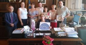 Αντιπροσωπεία ομάδας ιατρών από την Πολωνία στην Μ.Λιονή