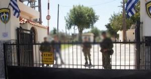 Πυροβολισμοί και ανθρωποκυνηγητό στο στρατόπεδο Μάλεμε στα Χανιά