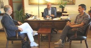 Συνάντηση Δημάρχου Χανίων με τον Αντρέα Μανάτος