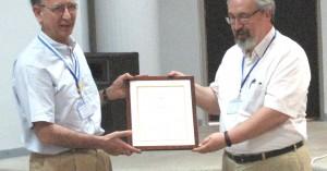 Εθνικό Βραβείο & Χρυσό Μετάλλιο στον καθ/τη του Πολυτεχνείου Μ.Παπαγεωργίου
