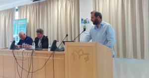 Ο Α.Ροκάκης στην έναρξη του Θερινού Σχολείου Περιβαλλοντικής Δημοσιογραφίας