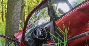 Αυτοκίνητο έπεσε πάνω σε δέντρο στο Λασίθι