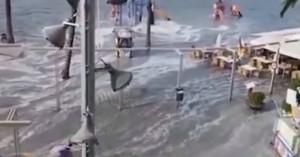 Τσουνάμι 1,5 μέτρο χτύπησε τη Μαγιόρκα (βίντεο)