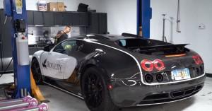 Πόσο κοστίζει η αλλαγή λαδιών σε μια Bugatti Veyron;
