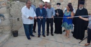 Εγκαινιάστηκε το Ανοιχτό Θέατρο στον οικισμό Συλλάμου