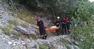 Γυναίκα έπεσε σε γκρεμό στο Λασίθι (φωτο)