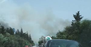 Χανιά: Μεγάλη φωτιά στον Άγιο Φανούριο (φωτο)