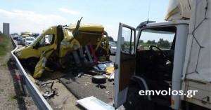 Τροχαίο με καραμπόλα τριών οχημάτων και ένα τραυματία στην Εγνατία οδό