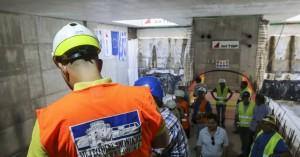 Θεσ/νίκη:Ολοκληρώνεται στο τέλος του μήνα η διάνοιξη των σηράγγων του μετρό