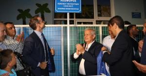 Σε κλίμα συγκίνησης η τελετή ονοματοδοσίας της οδού Κωνσταντίνος Μητσοτάκης