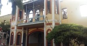 Ολοσχερής η καταστροφή του Πολεμικού Μουσείου στα Χανιά (φωτο + βιντεο)