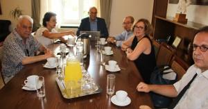 Ευρεία σύσκεψη στο δημαρχείο Χανίων μετά την πυρκαγιά στο Πολεμικό Μουσείο