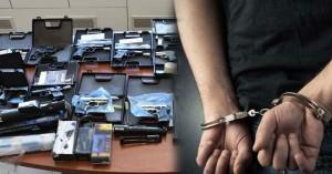 Ένας 22χρονος έκρυβε στο σπίτι του όπλο με σφαίρες!