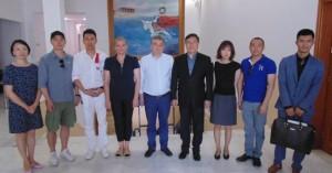 Στο Ηράκλειο κινεζική αντιπροσωπεία για την παραγωγή ταινίας