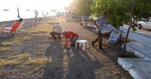 Τέλος στην εξοργιστική πατέντα κάποιων για ρεζερβέ στην παραλία