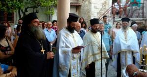 Πλήθος κόσμου στο πανηγύρι στην Μονή Προφήτη Ηλία Ρουστίκων (φωτο)