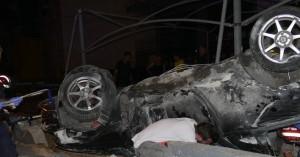 Αυτοκίνητο τούμπαρε στη Λ. Καραμανλή - Στο νοσοκομείο μία γυναίκα (φωτο)