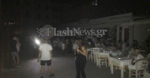 Στο σκοτάδι βυθίστηκε το παλιό λιμάνι Χανίων (φωτο)