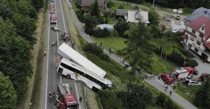Πολωνία: Τρεις  νεκροί και δεκαοκτώ τραυματίες σε τροχαίο με λεωφορείο