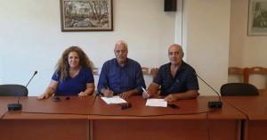 Δ. Αποκορώνου: Εργασίες αποκατάστασης ζημιών σε δημοτικά κτίρια