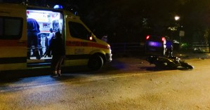 Τροχαίο ατύχημα στον δρόμο του Πολυτεχνείου στα Κουνουπιδιανά