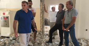 Εργασίες διαμόρφωσης στο παλιό δημαρχείο Ιεράπετρας