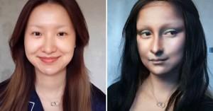 Η γυναίκα που ζωντανεύει γνωστούς πίνακες στο πρόσωπό της (βίντεο)