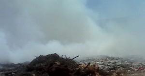 Φωτιά εκδηλώθηκε σε χώρο απορριμμάτων στην Ιεράπετρα