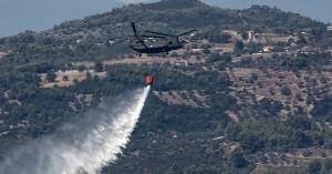 Υψηλός κίνδυνος πυρκαγιάς και σήμερα στην Κρήτη (φωτο)